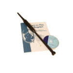 BAGLRB BLACK ROSEWOOD PRACTICE CHANTER WITH BOOK AND CD