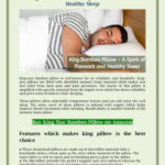 King Bamboo Pillow – A Spirit of Pleasant and Healthy Sleep