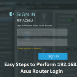 Easy Steps to Perform 192.168.1.1 Asus Router Login