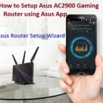 How to Setup Asus AC2900 Gaming Router using Asus App